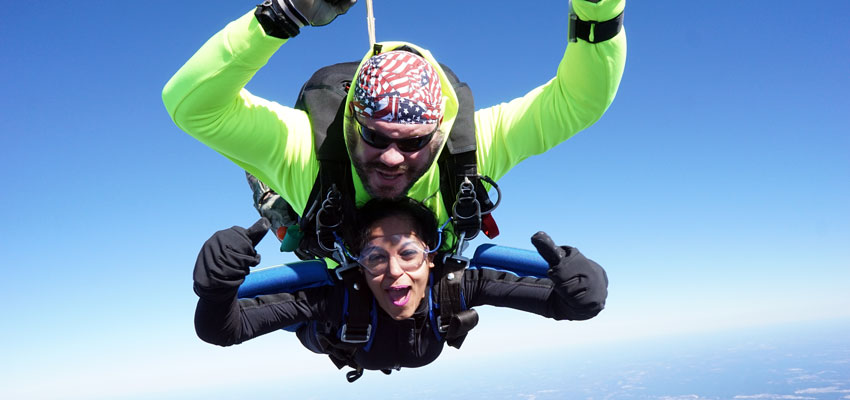 No greater feeling than free fall!