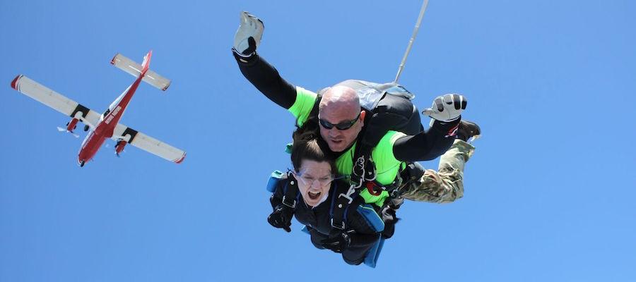 Tandem Skydiving Raleigh