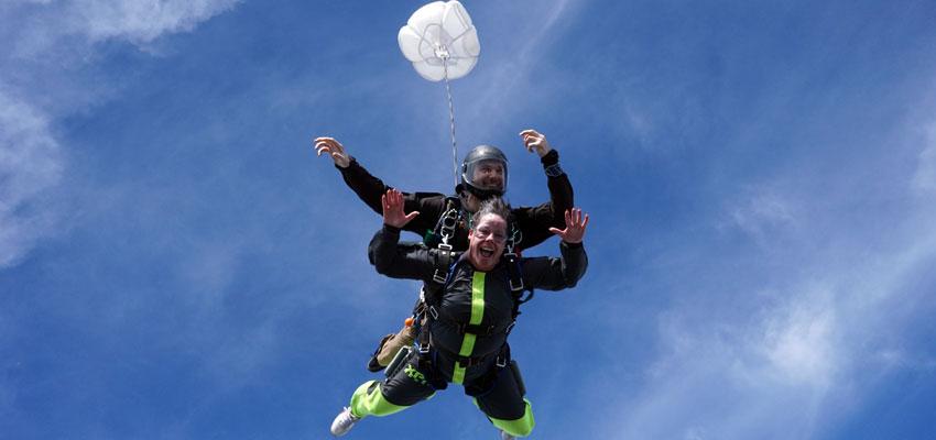 Tandem Skydiving - Paraclete XP