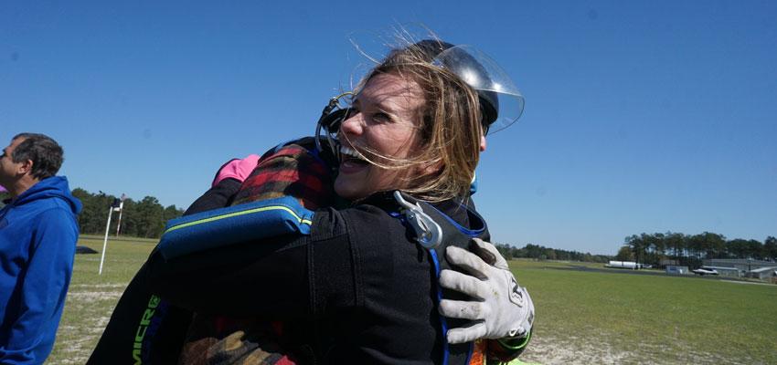 skydiving empowerment