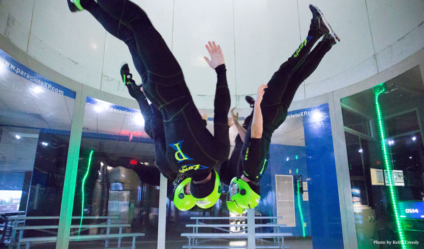 indoor skydiving wind tunnel