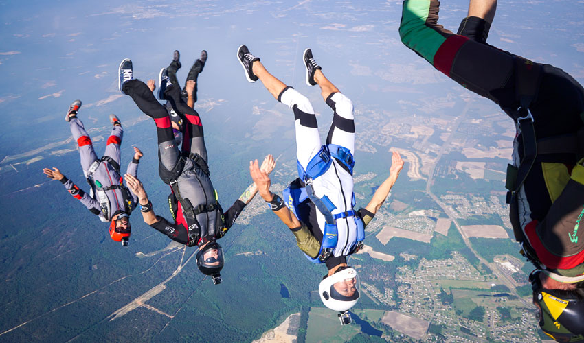 skydiving near raleigh