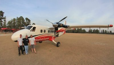 Skydive Paraclete XP Twin Otter Aircraft