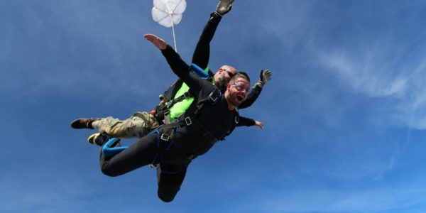 tandem skydiving NC costs