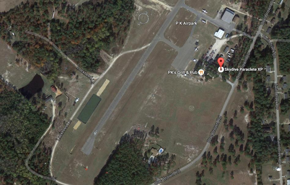 Skydive Paraclete XP Landing Area