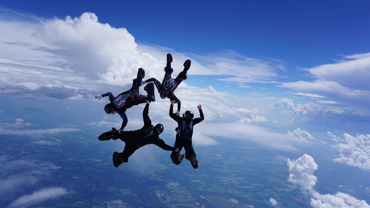 Gifts For Organizers >> Formation Skydiving Photos | Skydive Paraclete XP