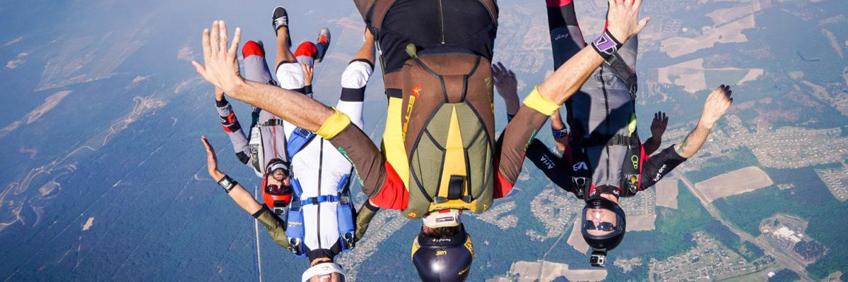 terminal velocity skydiving