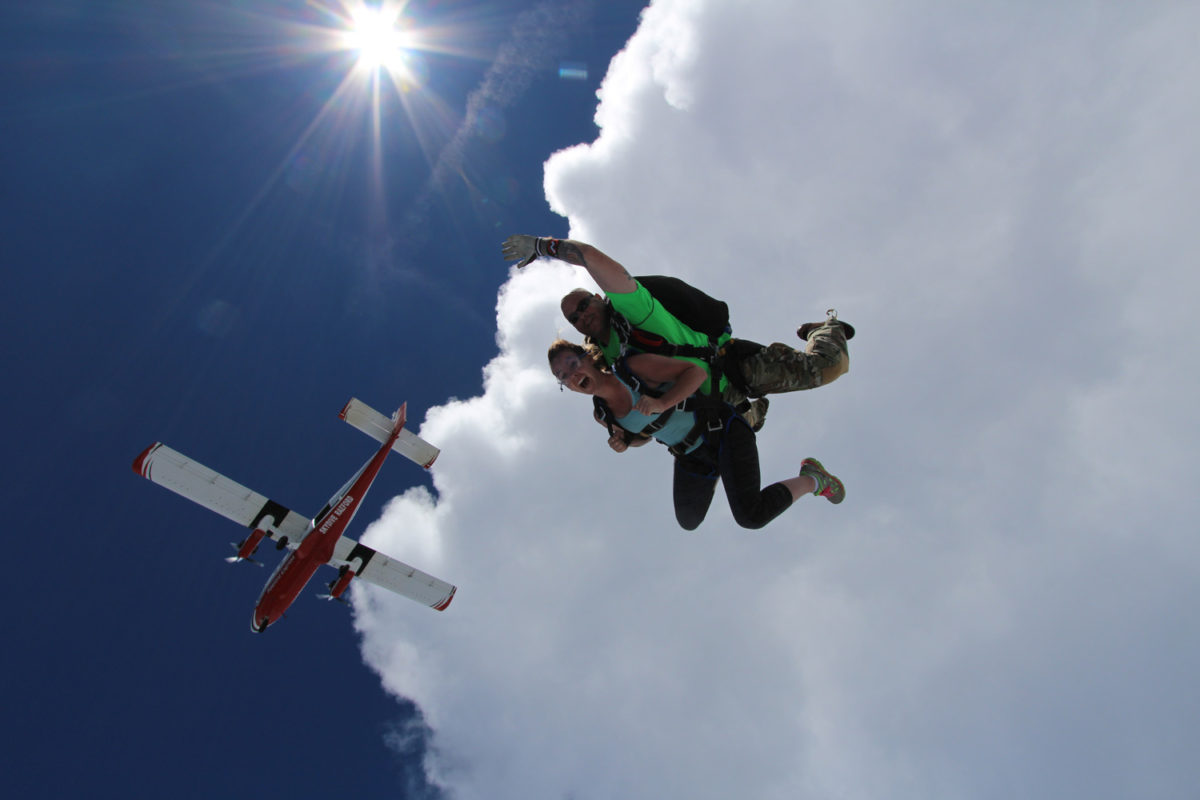 starting a career in skydiving