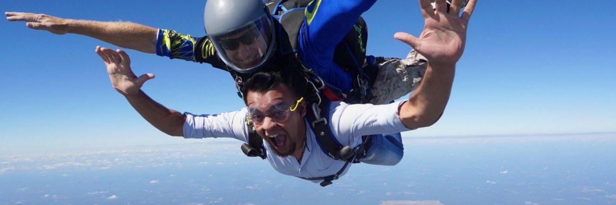 tandem skydiving near durham nc