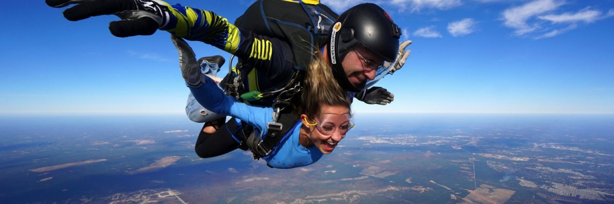 women experiences how long freefall is in a skydive