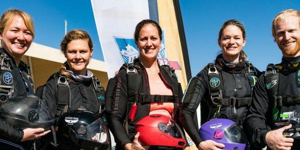 photo of phoenix xp skydiving team