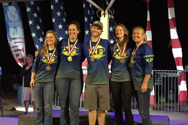 phoenix xp on podium at USPA Nationals