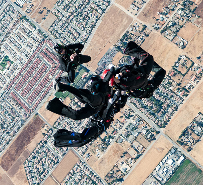 Skydiving Videographer Elliot Byrd at the USPA Nationals 2017 with Phonix XP.