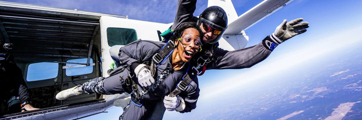 positive effects skydiving