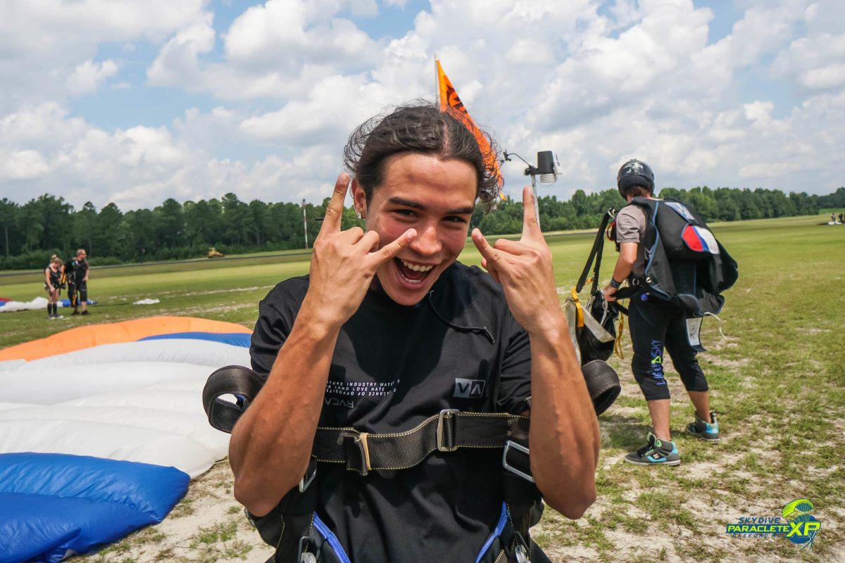 what goes through your mind when skydiving