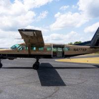 Cessna Super Caravan - brown and black