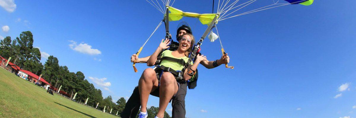 cross skydiving off bucket list