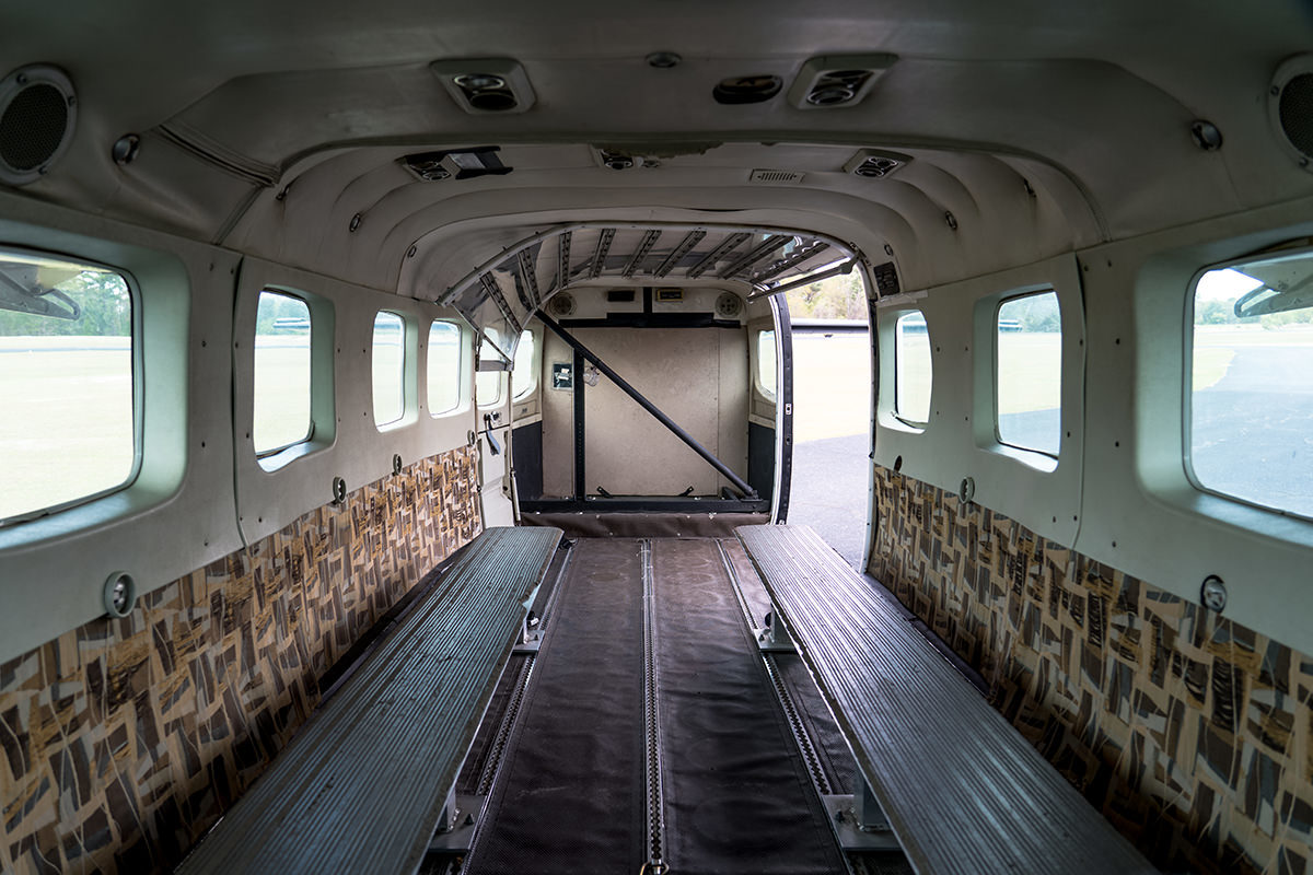 A Look Inside A Skydiving Plane Photos Skydive