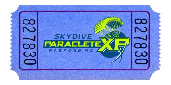Skydive Paraclete Lift Ticket