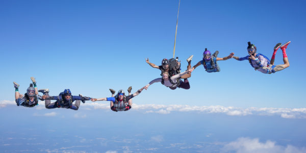 skydiving dropzone